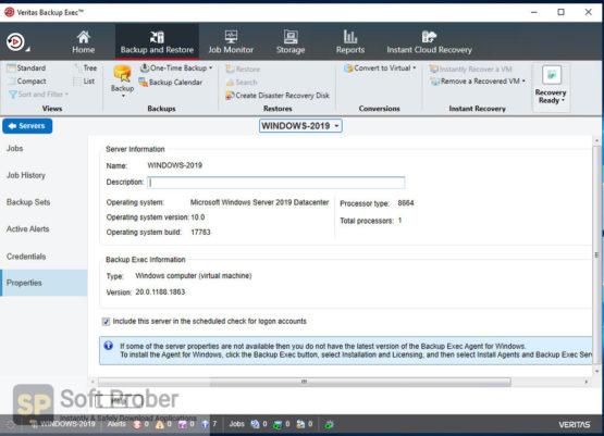 Veritas Backup Exec 2021 Offline Installer Download-Softprober.com