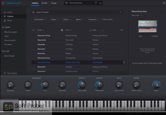 Arturia Analog Lab V5 2021 Direct Link Download-Softprober.com