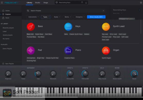 Arturia Analog Lab V5 2021 Offline Installer Download-Softprober.com