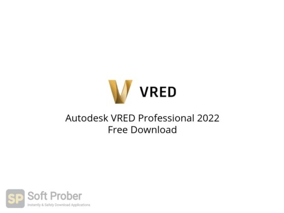 Autodesk VRED Professional 2022 Free Download-Softprober.com