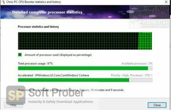 ChrisPC CPU Booster 2021 Offline Installer Download-Softprober.com