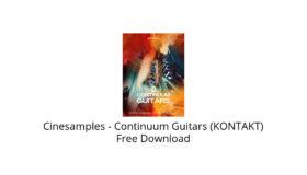 Cinesamples – Continuum Guitars (KONTAKT) Free Download
