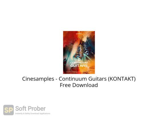 Cinesamples Continuum Guitars (KONTAKT) Free Download-Softprober.com