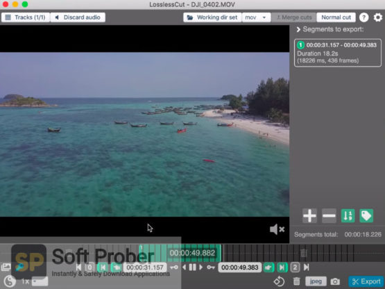 LosslessCut 2021 Latest Version Download-Softprober.com