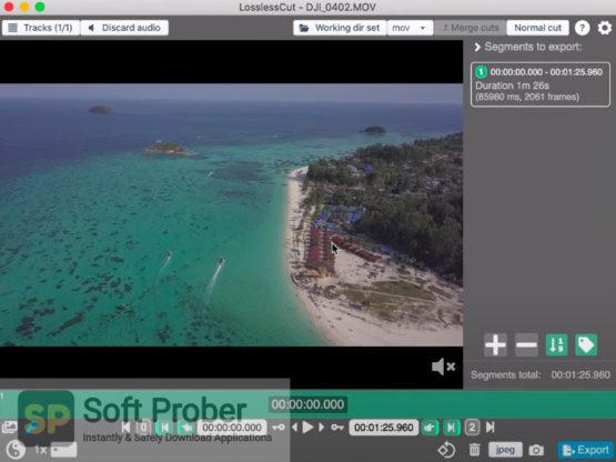 LosslessCut 2021 Offline Installer Download-Softprober.com