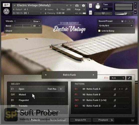 Native Instruments Session Guitarist Electric Vintage Offline Installer Download-Softprober.com
