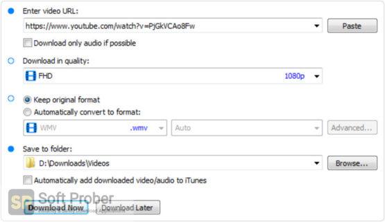 Robin YouTube Video Downloader Pro 2021 Direct Link Download-Softprober.com