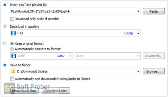 Robin YouTube Video Downloader Pro 2021 Offline Installer Download-Softprober.com