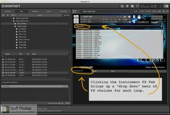 Big Fish Audio Eclipse: Ambient Guitars Offline Installer Download-Softprober.com