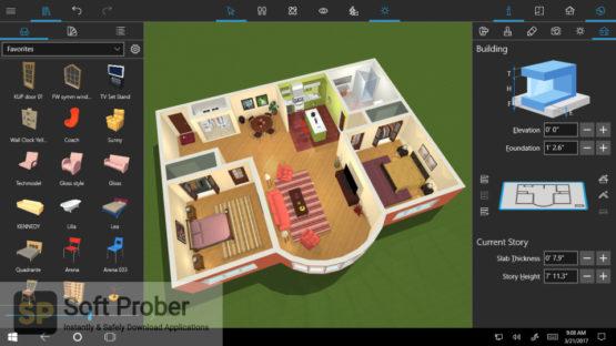 Live Home 3D Pro 2021 Offline Installer Download-Softprober.com