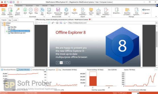 MetaProducts Offline Explorer Enterprise 2021 Offline Installer Download-Softprober.com