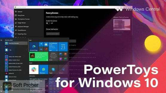 Microsoft PowerToys 2021 Offline Installer Download-Softprober.com