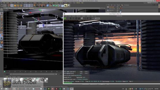 OctaneRender For Cinema 4D 2021 Latest Version Download-Softprober.com