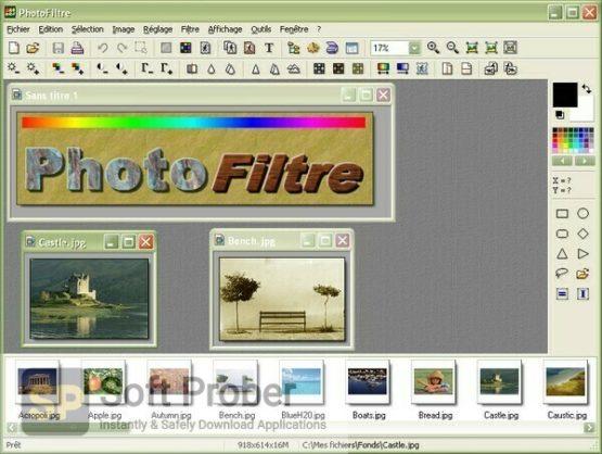 PhotoFiltre Studio 2021 Offline Installer Download-Softprober.com