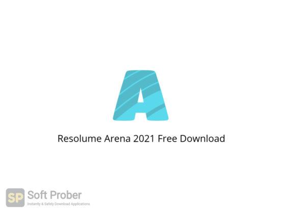 Resolume Arena 2021 Free Download-Softprober.com