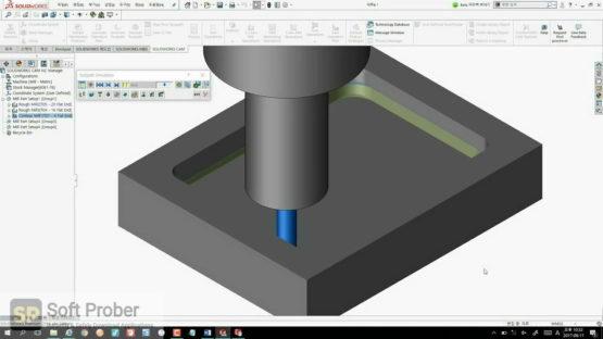 SolidCAM 2021 SP1 HF2 for SOLIDWORKS Latest Version Download-Softprober.com