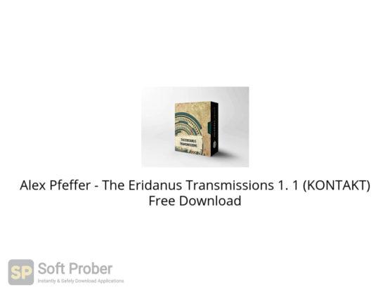 Alex Pfeffer The Eridanus Transmissions 1. 1 (KONTAKT) Free Download-Softprober.com