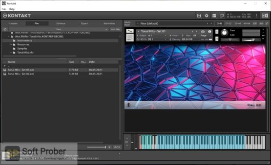 Alex Pfeffer Tonal Hits (KONTAKT) Offline Installer Download-Softprober.com
