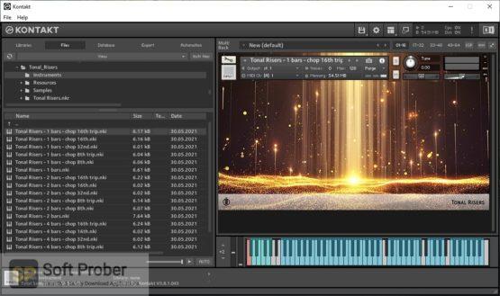 Alex Pfeffer Tonal Risers (KONTAKT) Offline Installer Download-Softprober.com