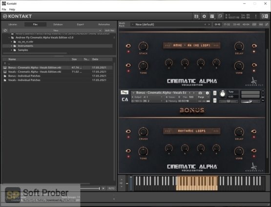 Andrew Fly Cinematic Alpha Vocals Edition 2 Latest Version Download-Softprober.com