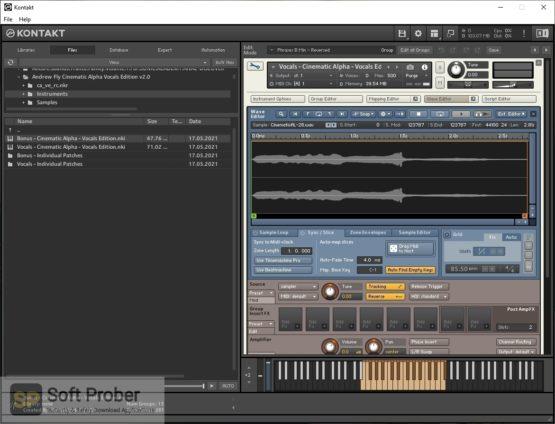 Andrew Fly Cinematic Alpha Vocals Edition 2 Offline Installer Download-Softprober.com