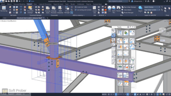 Autodesk Advance Steel 2022 Latest Version Download-Softprober.com