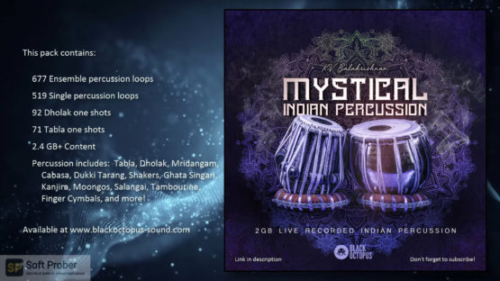 Black Octopus Sound KV Balakrishnan Mystical Indian Percussion Latest Version Download-Softprober.com