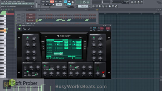 Busy Works Beats Melody Magic Latest Version Download-Softprober.com