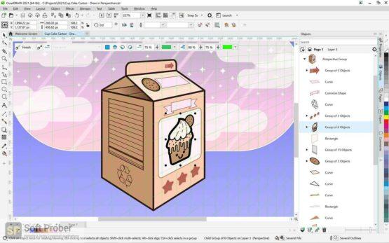CorelDRAW Graphics Suite 2021 Direct Link Download-Softprober.com
