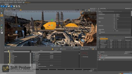 Isotropix Clarisse iFX 2021 Latest Version Download-Softprober.com