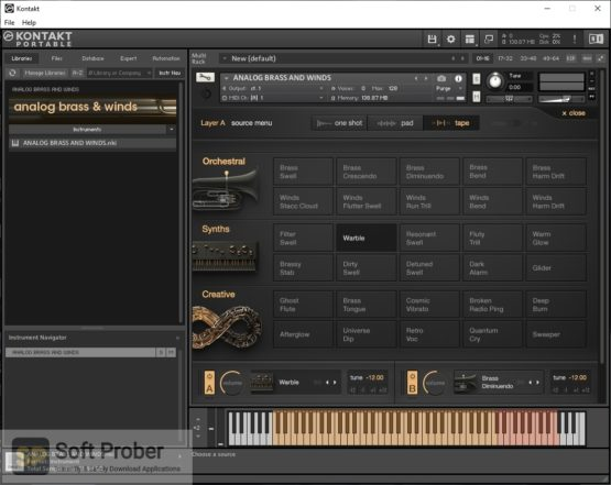 Output Analog Brass & Winds Latest Version Download-Softprober.com