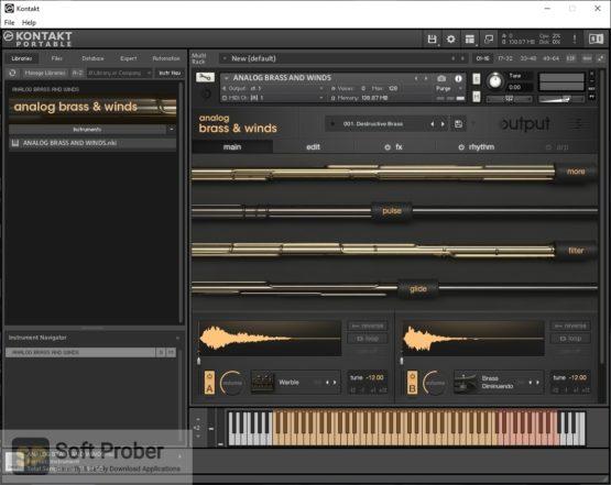 Output Analog Brass & Winds Offline Installer Download-Softprober.com