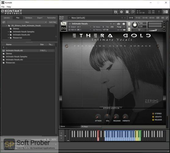 Zero G ETHERA Gold Intimate Vocals (KONTAKT) Latest Version Download-Softprober.com