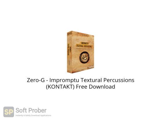 Zero G Impromptu Textural Percussions (KONTAKT) Free Download-Softprober.com