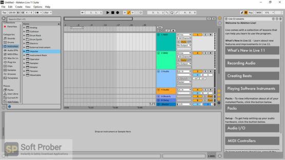Ableton Live Suite 11 Direct Link Download-Softprober.com