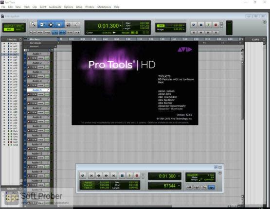 Avid Pro Tools HD 2021 Latest Version Download-Softprober.com