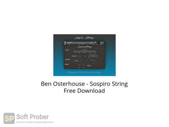 Ben Osterhouse Sospiro String Free Download-Softprober.com