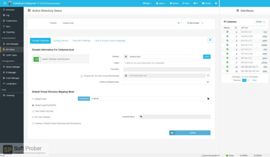 Cerberus FTP Server Enterprise 2021 Offline Installer Download-Softprober.com