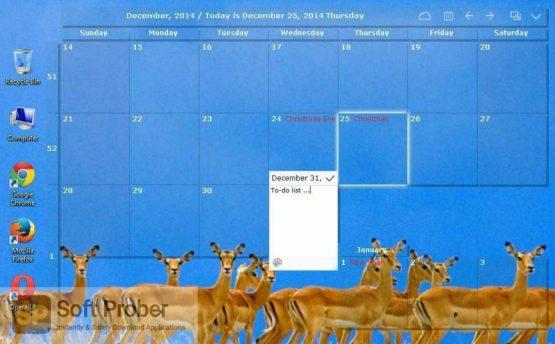 Desktop Calendar 2021 Direct Link Download-Softprober.com