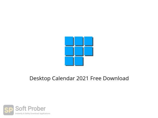 Desktop Calendar 2021 Free Download-Softprober.com