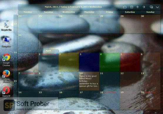 Desktop Calendar 2021 Latest Version Download-Softprober.com