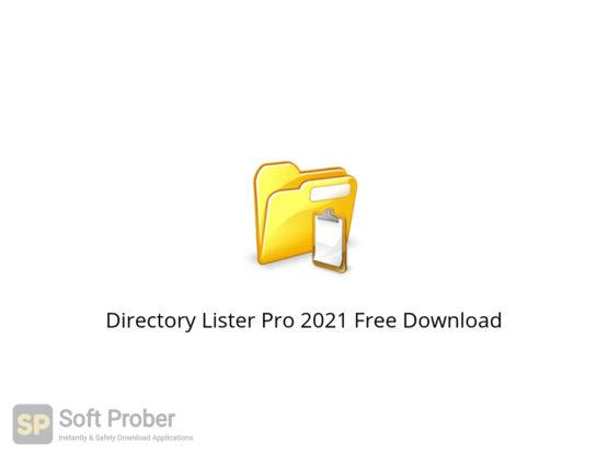 Directory Lister Pro 2021 Free Download-Softprober.com