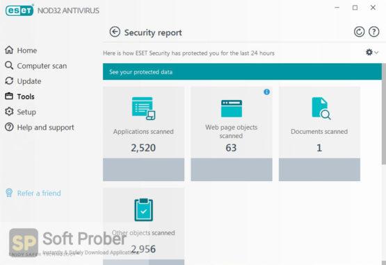 ESET NOD32 Antivirus 2021 Offline Installer Download-Softprober.com