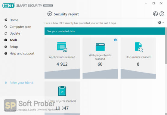 ESET NOD32 Smart Security 2021 Latest Version Download-Softprober.com