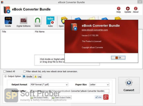 Ebook Converter Bundle 2021 Latest Version Download-Softprober.com