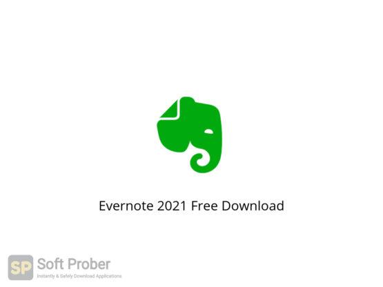 Evernote 2021 Free Download-Softprober.com