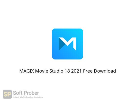MAGIX Movie Studio 18 2021 Free Download-Softprober.com