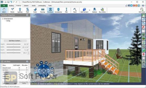 NCH DreamPlan Plus 2021 Offline Installer Download-Softprober.com
