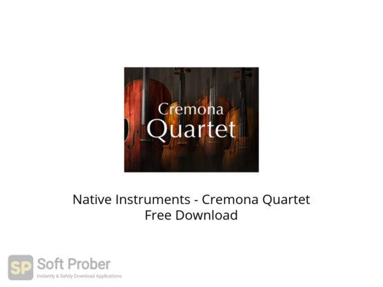 Native Instruments Cremona Quartet Free Download-Softprober.com