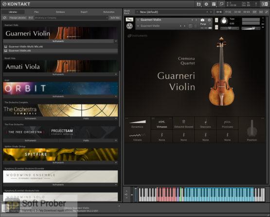 Native Instruments Cremona Quartet Offline Installer Download-Softprober.com